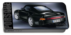 The Porsche 959 Portable Battery Charger by Jon Neidert