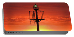 Port Hughes Lookout Portable Battery Charger by Linda Hollis