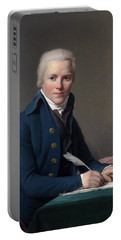 Portrait Of Jacobus Blauw Portable Battery Charger
