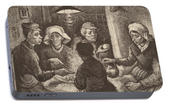 Potato Eaters, 1885 Portable Battery Charger by Vincent Van Gogh