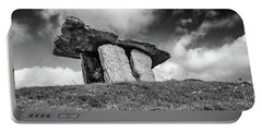 Poulnabrone Dolmen Portable Battery Charger by Martina Fagan