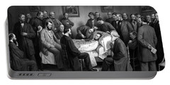 President Lincoln's Deathbed Portable Battery Charger