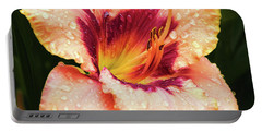 Portable Battery Charger featuring the photograph Pretty Flower by Elvira Ladocki