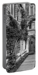 Portable Battery Charger featuring the photograph Princeton University Foulke Hall II by Susan Candelario