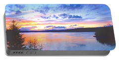 Portable Battery Charger featuring the photograph Puget Sound Sunset by Sean Griffin