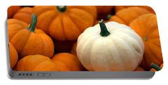 Pumpkins Portable Battery Charger by Joseph Skompski