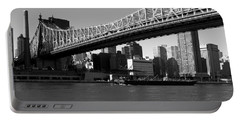 Portable Battery Charger featuring the photograph Queensboro Bridge  by John Harding