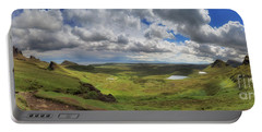Quiraing And Trotternish - Panorama Portable Battery Charger