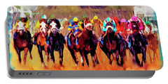 Race To The Finish Portable Battery Charger