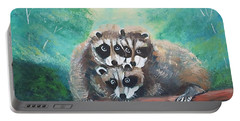 Racoons Portable Battery Charger