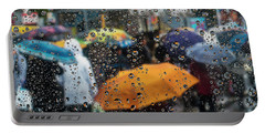 Portable Battery Charger featuring the photograph Raining by Vladimir Kholostykh