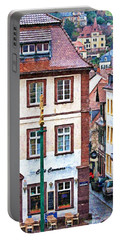 Rainy Day In Heidelberg Portable Battery Charger