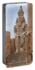 Portable Battery Charger featuring the photograph Rameses by Silvia Bruno