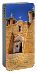 Ranchos De Taos Church  Portable Battery Charger