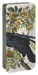 Raven Portable Battery Charger by John James Audubon