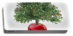 Red Apple... Portable Battery Charger