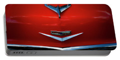 Red Chev Portable Battery Charger