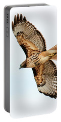 Portable Battery Charger featuring the photograph Red Tail Hawk by Norman Hall