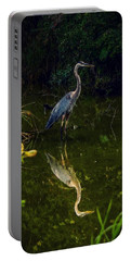 Portable Battery Charger featuring the photograph Reflect. by Kendall McKernon