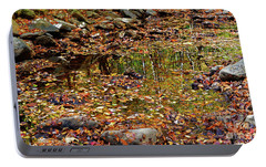Portable Battery Charger featuring the photograph Reflections Of Fall by Paul Mashburn