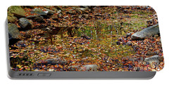 Reflections Of Fall Portable Battery Charger by Paul Mashburn