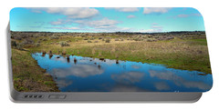 Portable Battery Charger featuring the photograph Reflections Of Spring by Mike Dawson