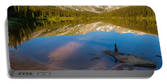 Portable Battery Charger featuring the photograph Reflections by Steven Reed