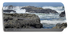 Portable Battery Charger featuring the photograph Roads End by Peggy Hughes