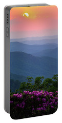 Roan Mountain Sunset Portable Battery Charger