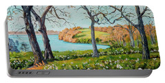 Rock Cut State Park Portable Battery Charger by Alexandra Maria Ethlyn Cheshire