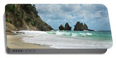 Rocks Of Coromandel, New Zealand Portable Battery Charger