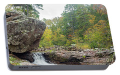 Portable Battery Charger featuring the photograph Rocky Creek Shut-ins by Julie Clements