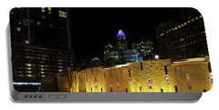 Romare Bearden Park Portable Battery Charger by Serge Skiba