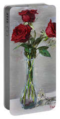 Roses For Viola Portable Battery Charger