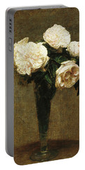 Roses In A Vase Portable Battery Charger