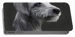 Rough Coated Lurcher  Portable Battery Charger