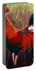 Rudy The Rooster Portable Battery Charger