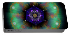 Sacred Geometry 638 Portable Battery Charger