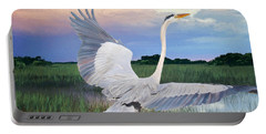 Sail Into Sunset Portable Battery Charger by Judy Kay