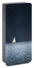 Portable Battery Charger featuring the photograph Sailboat by Chevy Fleet