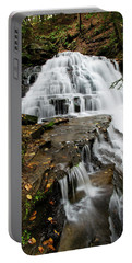 Portable Battery Charger featuring the photograph Salt Springs Waterfall by Christina Rollo