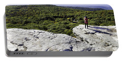 Sams Point Overlook Portable Battery Charger by Fran Gallogly