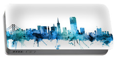 San Francisco California Skyline Portable Battery Charger