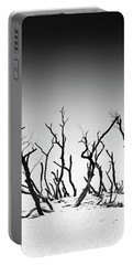Sand Dune With Dead Trees Portable Battery Charger by Chevy Fleet