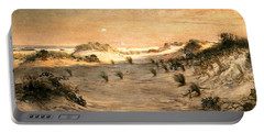 Sand Dunes At Sunset, Atlantic City Portable Battery Charger
