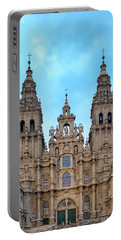 Portable Battery Charger featuring the photograph Santiago De Compostela Cathedral by Fabrizio Troiani