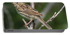 Savannah Sparrow Portable Battery Charger