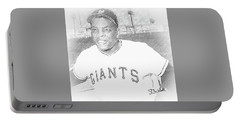Willie Mays Portable Battery Charger