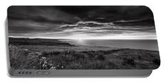Scottish Sunrise Portable Battery Charger by Jeremy Lavender Photography