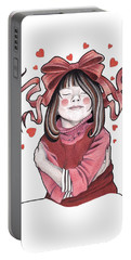 Selfie Portable Battery Charger by Deadcharming Art